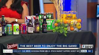 The best beers for your big Super Bowl party - Video
