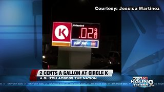 2 cents a gallon at Circle K - Video