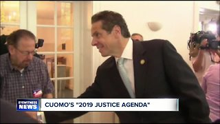 Governor Cuomo says legalizing recreational marijuana among 2019 priorities