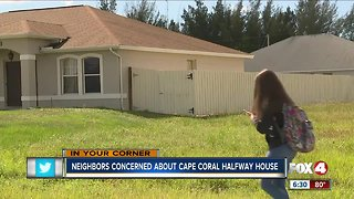 Neighbors concerned over Cape halfway house