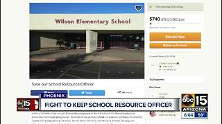 School principal launches GoFundMe in effort to save School Resource Officer