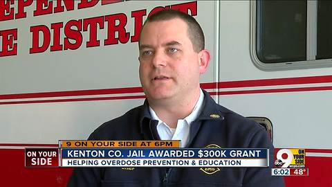 Kenton Co. jail to use $300K grant to reduce ODs