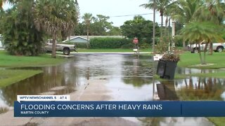 Flooding continues to cause problems in Martin County