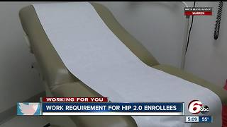 Indiana wants a work requirement for HIP 2.0 enrollees - Video