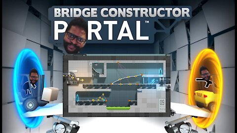 Bridge Constructor Portal: Levels 8-10