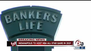 2021 NBA All-Star Game coming to Indy