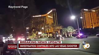 Investigation continues into Las Vegas shooter - Video