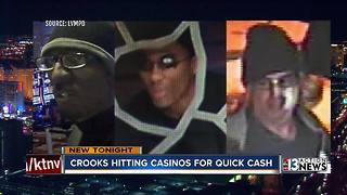 Criminals appear to be targeting Las Vegas casinos - Video