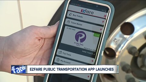 Cashless bus fare app, EZfare App, rolls out in 8 Ohio counties