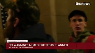 FBI warning armed protests planned