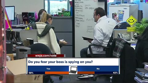Do you fear your boss is spying on you?