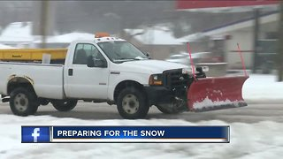 Southeast Wisconsin prepares for first winter storm of the season