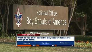 Boy Scouts to change name as girls join ranks
