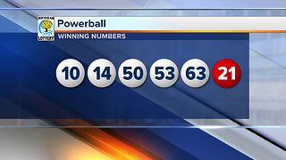 No winner in Wednesday's Powerball drawing, jackpot grows to $625M
