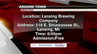 Around Town 4/9/18: Brew Run - Video