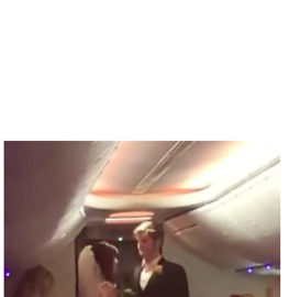 Couple Gets Married on Flight from Las Vegas to Baltimore