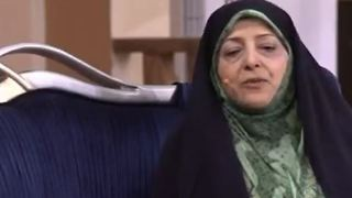 Masoumeh Ebtekar in Dorehami TV show - Video