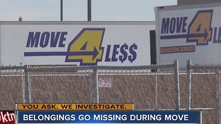 Man says movers stole family belongings - Video