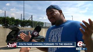 Colts fans react to first pre-season game - Video