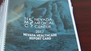 Non-profit gives Nevada health care a 'D' grade - Video