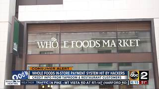 Whole Foods latest to fall victim to hackers - Video