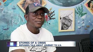 Refugee shares story of journey from the Congo