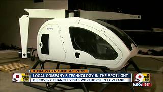 Local company's technology in the spotlight - Video