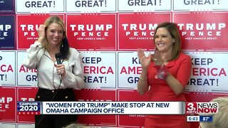Women for Trump Make Stop at New Campaign Office