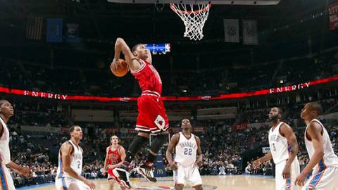 Derrick Rose and his Deadly Crossover