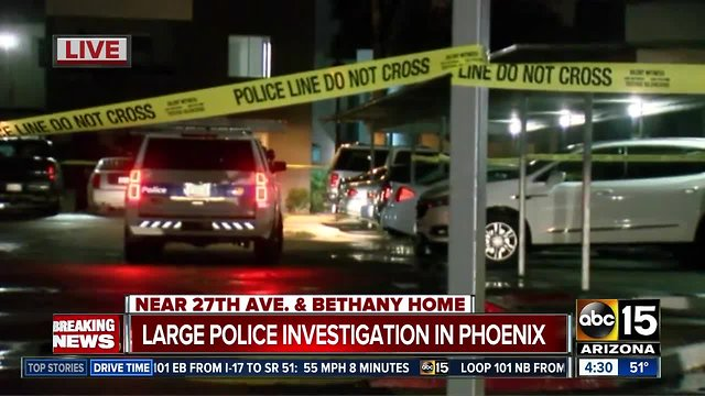 Police investigating two shootings in Phoenix overnight