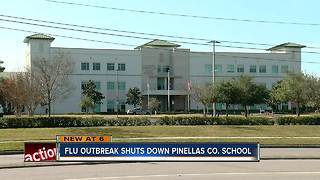 Flu outbreak prompts high school in Clearwater to close Friday - Video