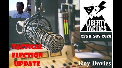 Executive Orders, Imminent Arrests, The Great Awakening - Roy Davies Update 22/11/20