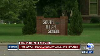 Investigation into groping claims at South HS puts principal, 3 others on leave - Video