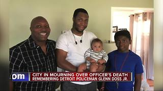 Mourning the loss of Officer Glenn Doss - Video