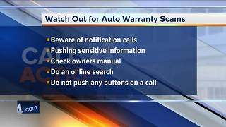 Call 4 Action: Watch out for auto warranty scams