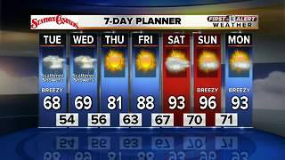 13 First Alert Weather for May 1 2019 - Video