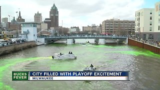 Milwaukee gets makeover in time for Bucks playoff run