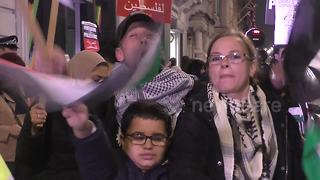 Protests and celebration mark Balfour centenary in London