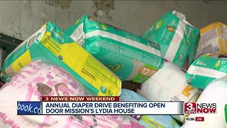 Annual drive collects more than 1 million diapers