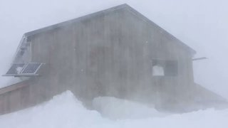 Winter Storm Brings Blizzard Conditions to Switzerland - Video