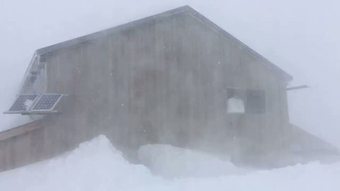 Winter Storm Brings Blizzard Conditions to Switzerland