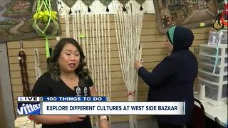Getting a chance to be a business owner at West Side Bazaar - Video