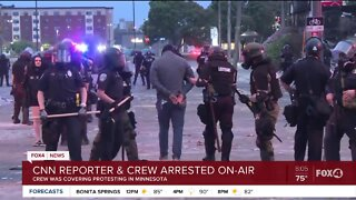CNN Reporter and Crew taken into custody on air in Minneapolis