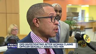 DPD conducting internal investigation into alleged sexual assault involving officer - Video