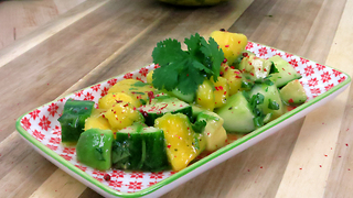 Tropical cucumber salad recipe - Video
