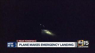 Plane makes emergency landing near Buckeye airport - Video