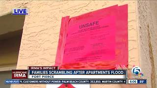 Residents of Sabal Chase Apartments in Fort Pierce have 48 hours to evacuate - Video