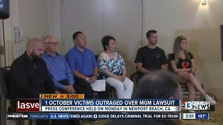 1 October victims talk about lawsuit - Video
