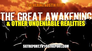THE GREAT AWAKENING & OTHER UNDENIABLE REALITIES -- CATHERINE AUSTIN FITTS