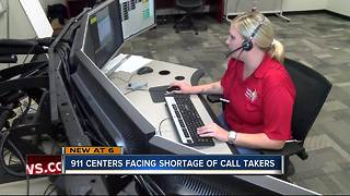 New training to address 911 dispatcher shortage - Video